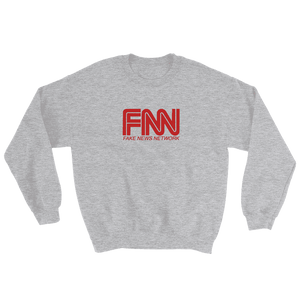 """Fake News Network"" Sweatshirt - RightReality™"
