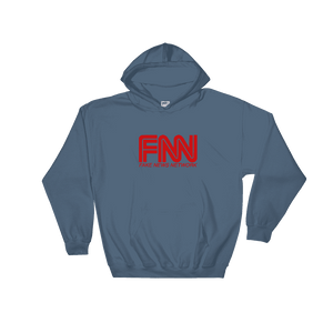 """Fake News Network"" Hoodie - rightreality"