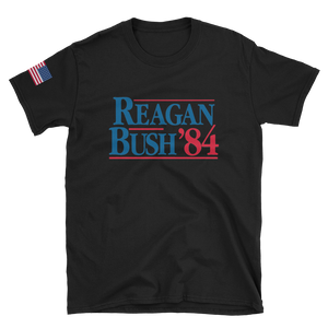 """Reagan Bush 84"" Shirt - rightreality"
