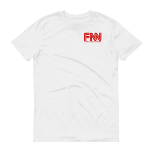 """FNN"" Fake News Network Small Logo Tee - RightReality™"