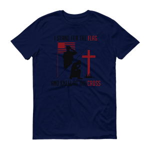 """Stand for the Flag, and Kneel at the Cross"" Tee - RightReality™"