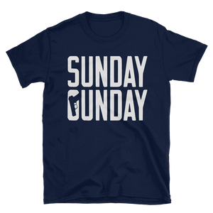 """Sunday Gunday"" Tee - rightreality"