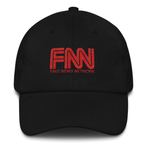 """Fake News Network"" Dad hat - rightreality"