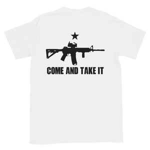 """Come and Take it"" (Back Design) Tee - rightreality"