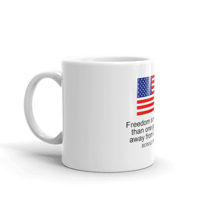 """Ronald Reagan"" Remembrance Mug - rightreality"