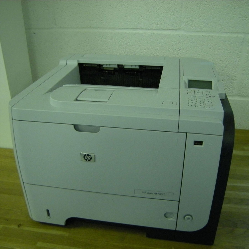 HP LaserJet P3015 A4 Office Printer (White) UNTESTED [USB & LAN]