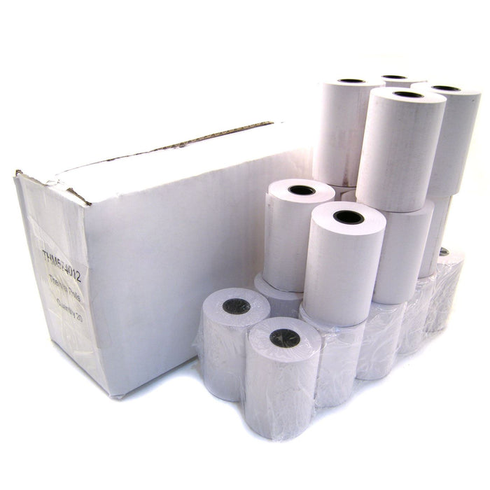 Box of 20 Thermal Credit Card Rolls 57 x 40 x 12mm