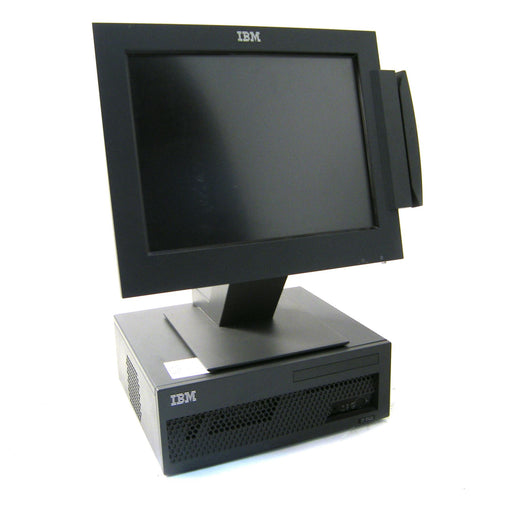 IBM 4910-T3S Base PC & TouchScreen Monitor (Grey)