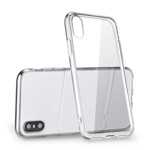 iPhone X Clear Case, [Anti-Discoloration] [Slim]