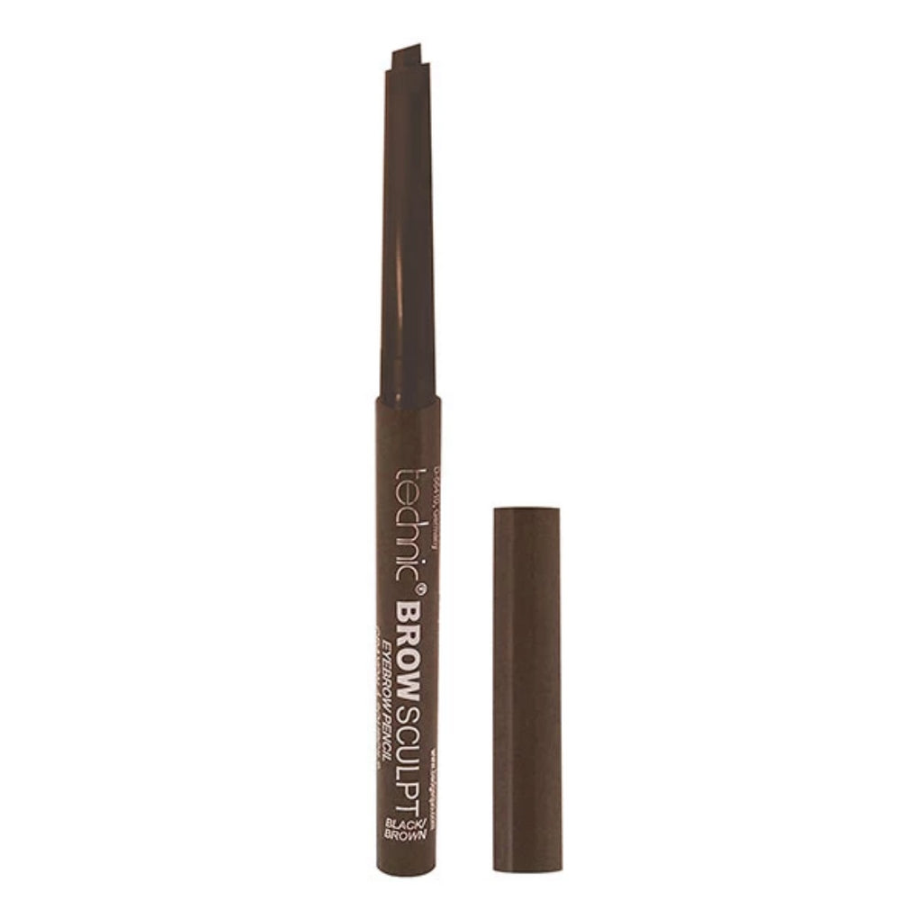 Lápiz de cejas Brow Sculpt-Black/Brown Technic