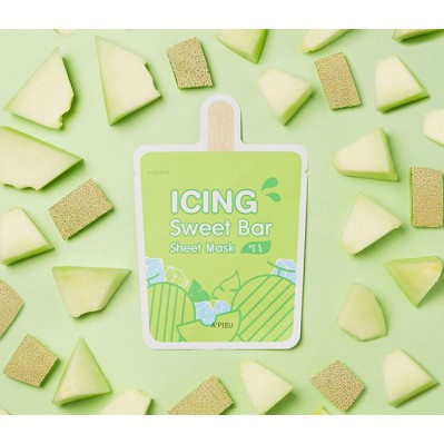 Icing sweet bar sheet mask-Melon - MAYLU BEAUTY TOOLS