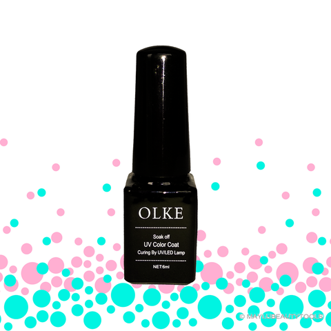 Base Coat - Esmalte Gel Semipermanente-OLKE - MAYLU BEAUTY TOOLS