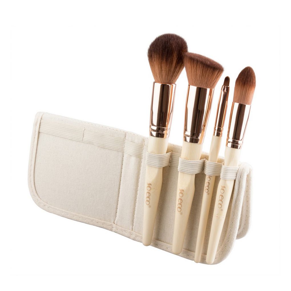 Set de brochas ecológicas de rostro So Eco - MAYLU BEAUTY TOOLS