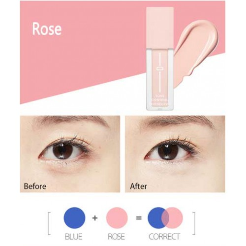 Tone control Corrector Color-Rose - MAYLU BEAUTY TOOLS