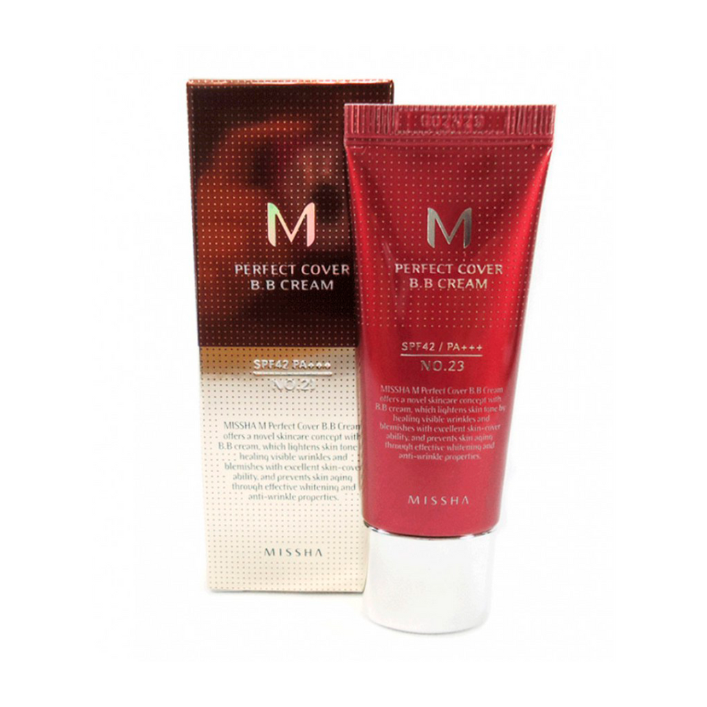 M Perfect Cover BB Cream SPF42/PA+++No.31 - MAYLU BEAUTY TOOLS