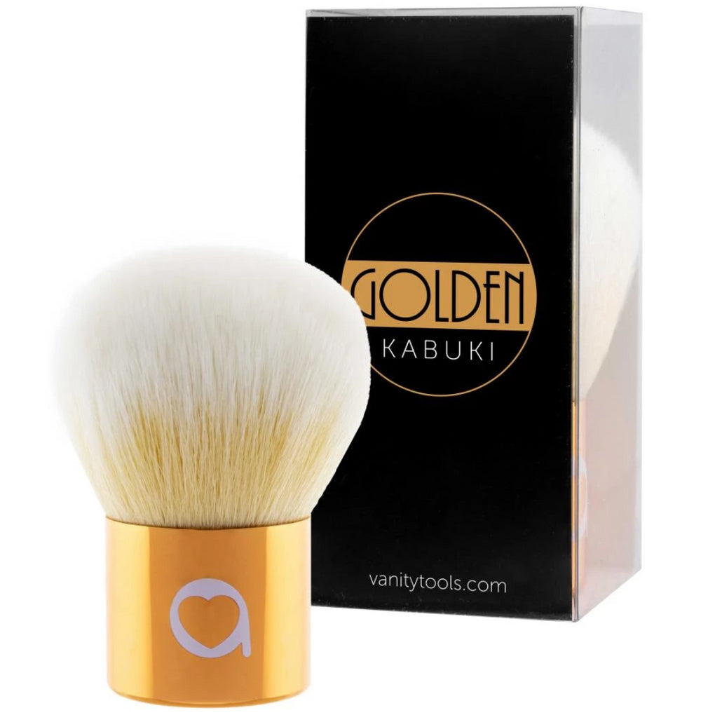 Brocha Golden Kabuki - MAYLU BEAUTY TOOLS