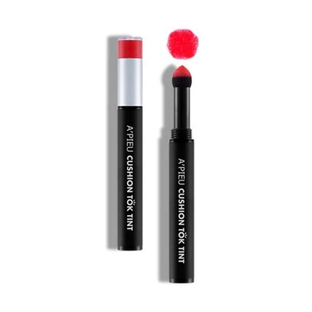 Labial en polvo Cushion Tok Tink - RD01 - MAYLU BEAUTY TOOLS