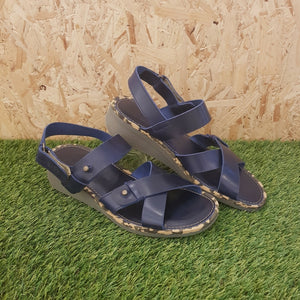 FLY LONDON - Crib Sandal - Navy