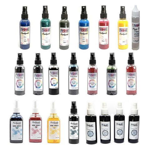 Complete set of Winks, Vibes & Pearlywinks 21 sprays in total