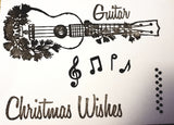 Musical Christmas Stamps by Cheryl Wall