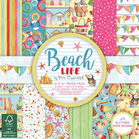 Helz Cuppleditch Beach Life 6x6 Paper Pack