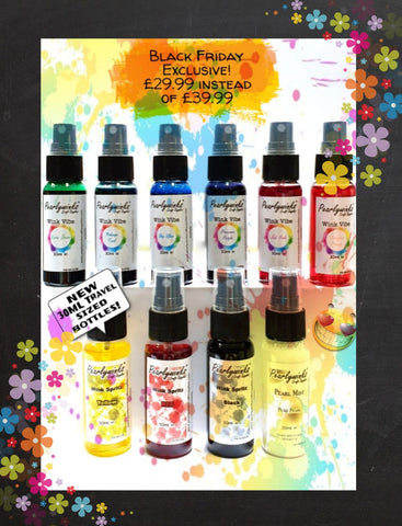 Travel set 10 x 30ml sprays