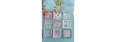 Lucy Cromwell At Christmas 9 Clear Stamps