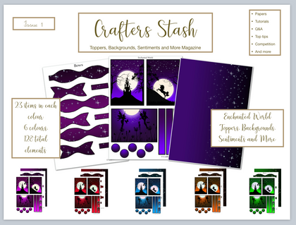 Crafters Stash Magazine Issue 1