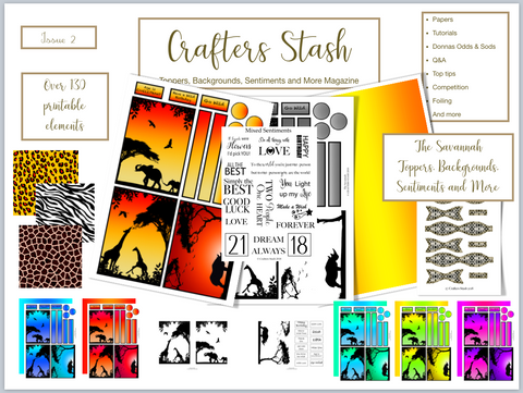 Crafters Stash Magazine Issue 2