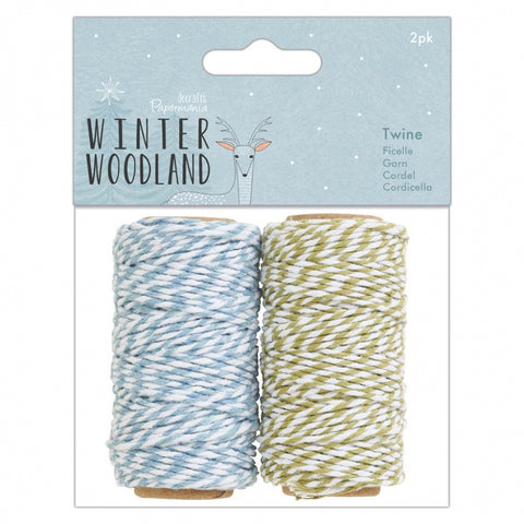 Papermania Winter Woodland Twine 2pk