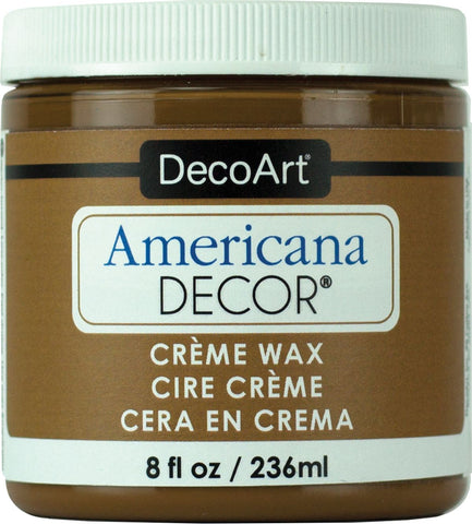 Americana Decor Creme Wax 8Oz / 236ML - Golden Brown