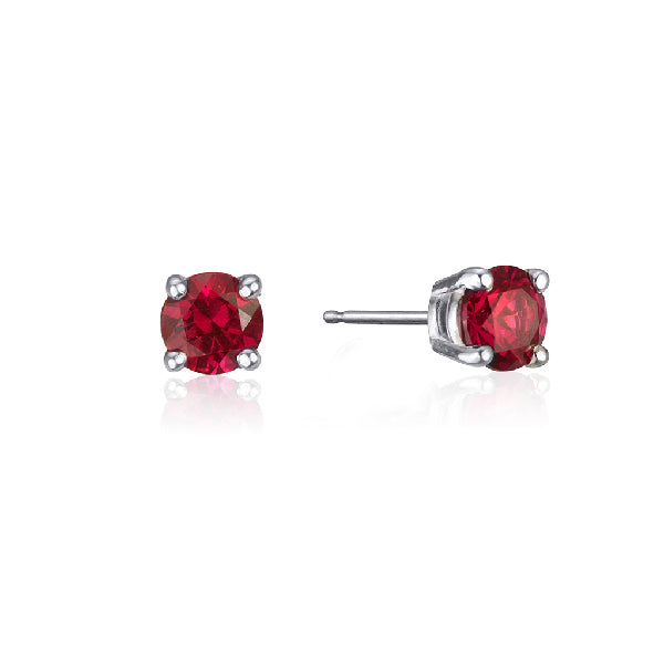 RUBY STUD (small)