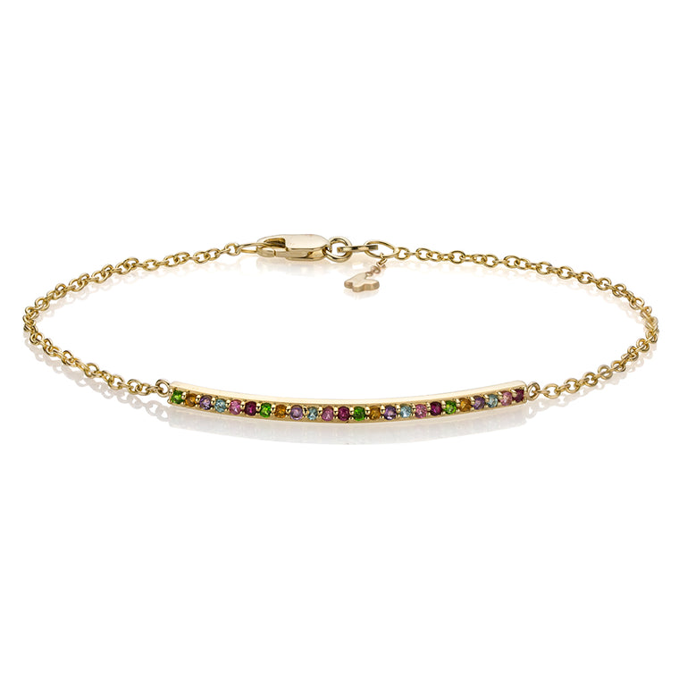 RAINBOW NARROW BRACELET