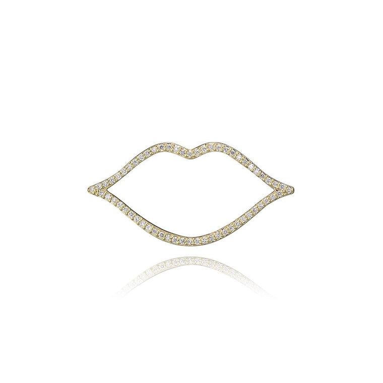 DIAMOND LIPS CHARM (Small)