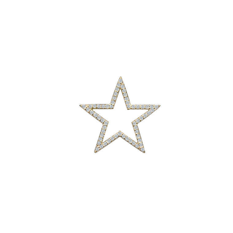 DIAMOND STAR CHARM (Small)