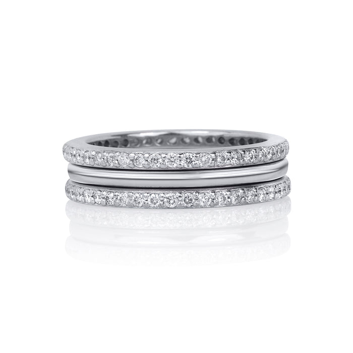 DIAMOND CHANNEL SET ETERNITY RING
