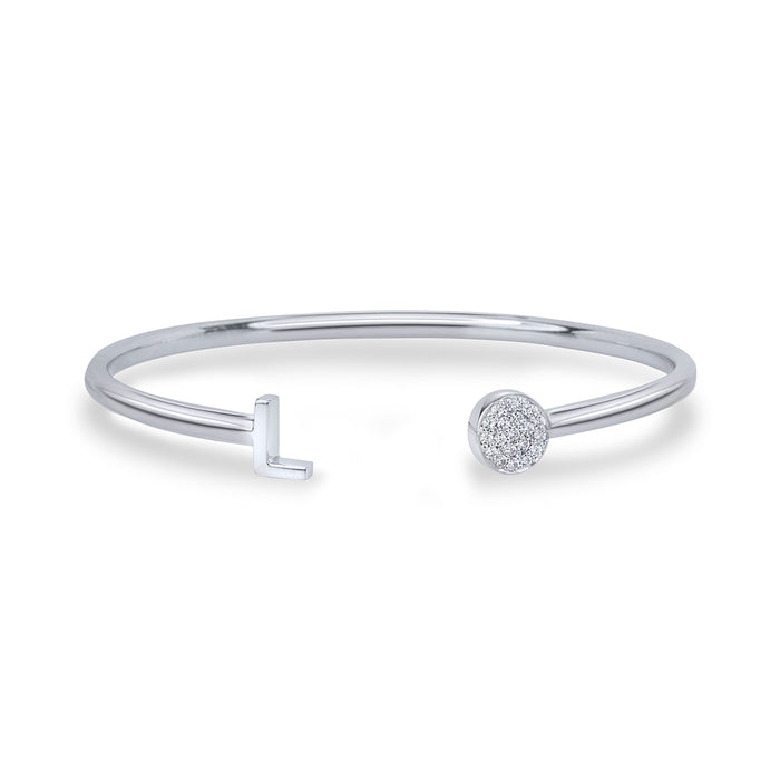 lafia name it diamond bangle white gold