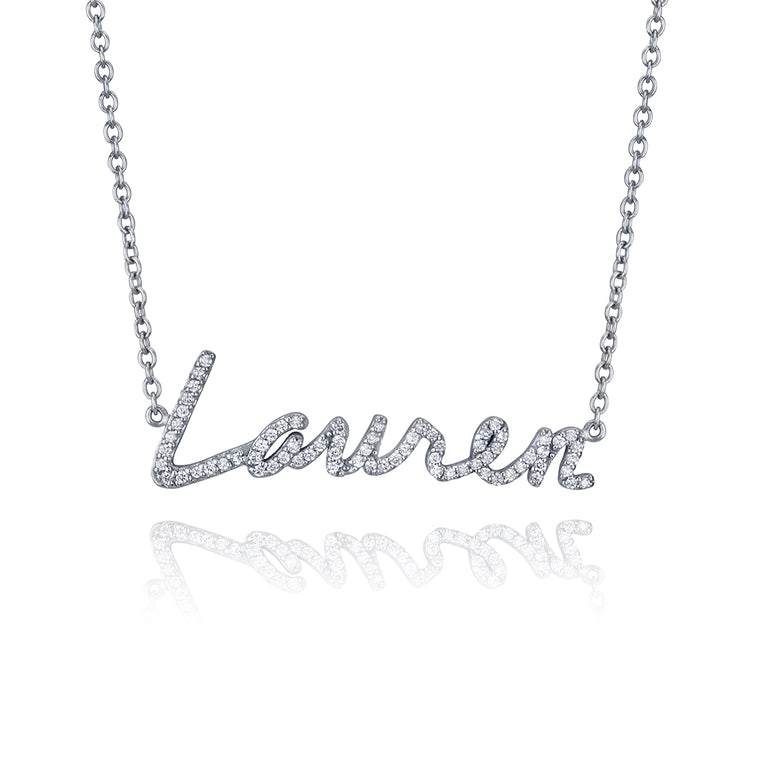 DIAMOND PERSONALIZED NECKLACE