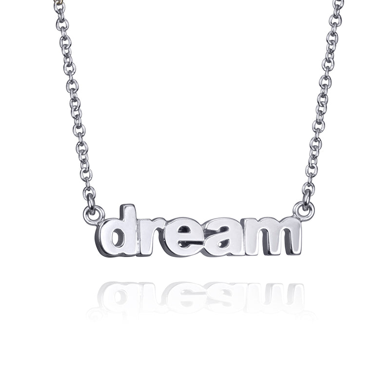 lafia name it petite personalized necklace white gold