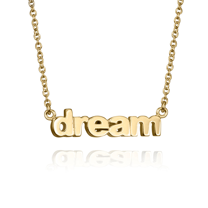 lafia name it petite personalized necklace yellow gold
