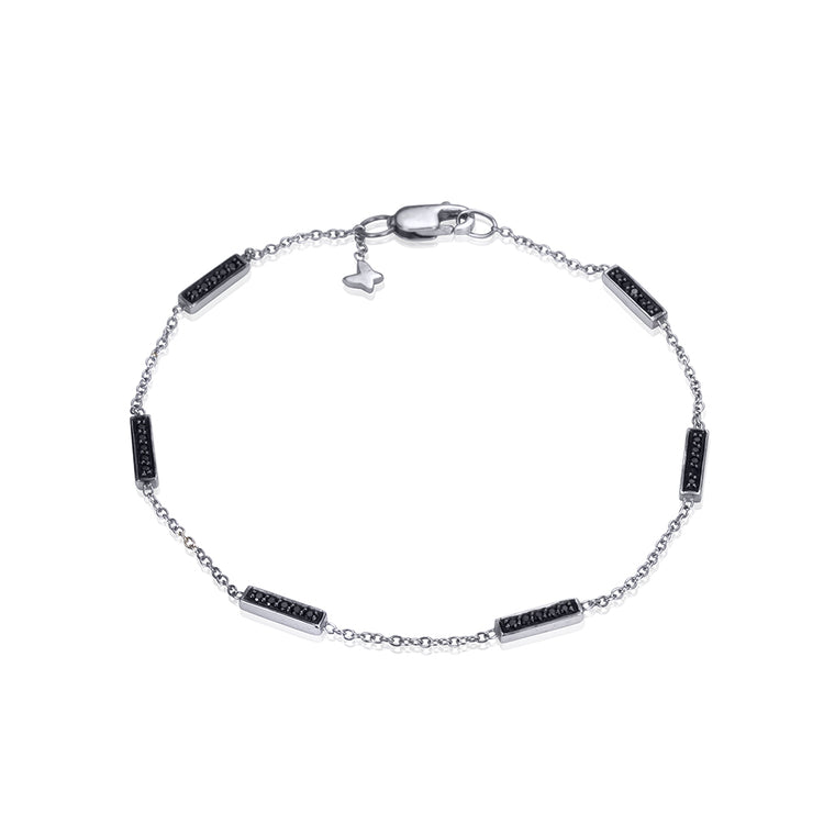 BLACK DIAMOND LINE BRACELET