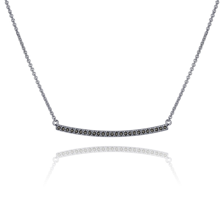 BLACK DIAMOND NARROW NECKLACE