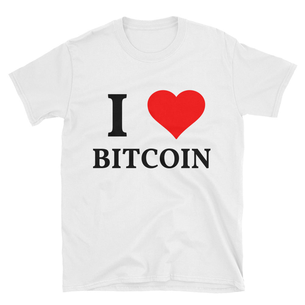 I LOVE BITCOIN T-Shirt
