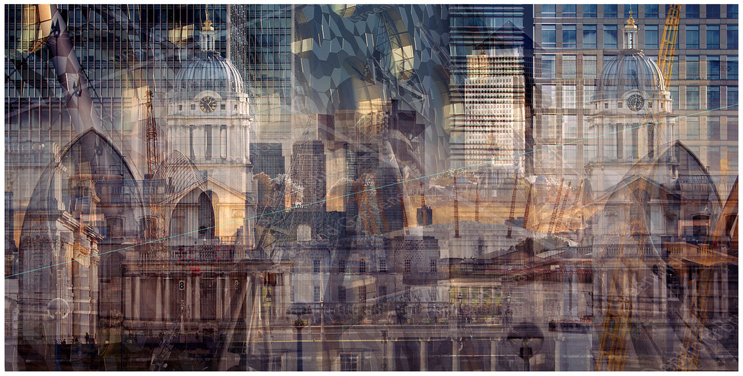 London #2 (East) - Cities by Paul Ratigan
