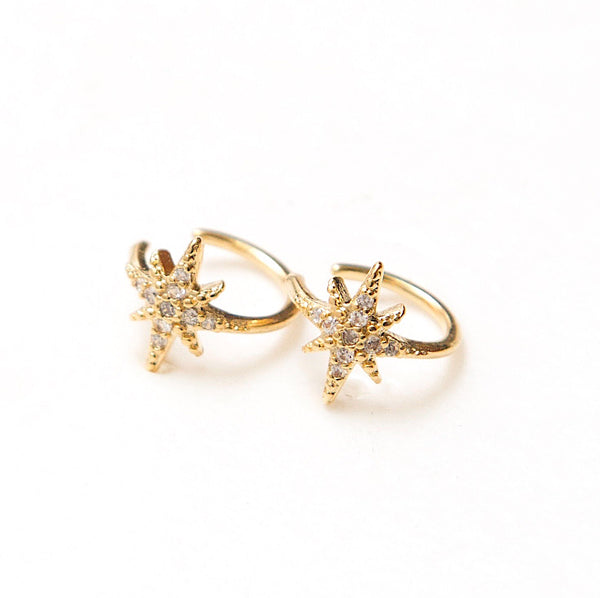 Earcuff North Star 14K