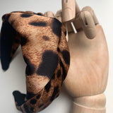 Vincha Leopard Fashion