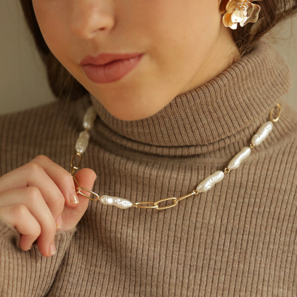collar mix link perlas xl