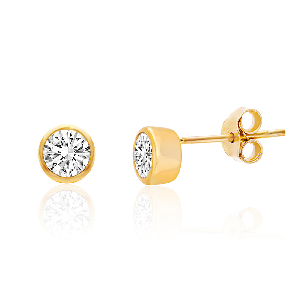 Arete basic zircon gold