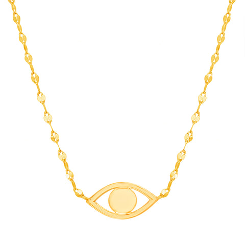 COLLAR OJITO GOLD