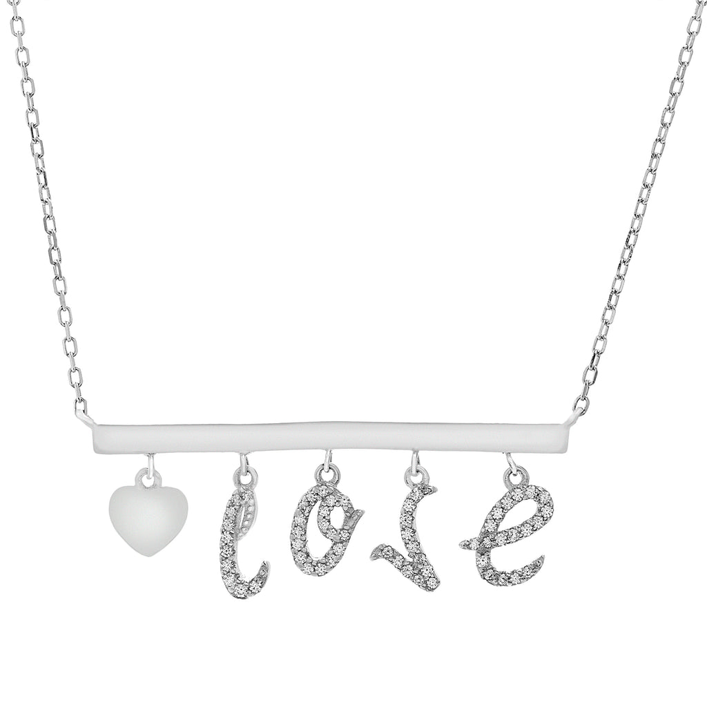 Collar Dije Movible Love